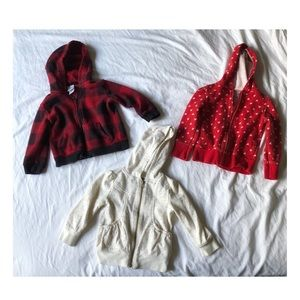 Other - Bundle of Lightweight Baby Girl 2T Jackets